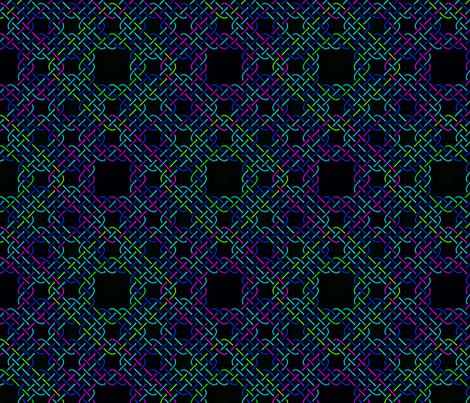 Serpinski Carpet Knot Cool fabric by will_la_puerta on Spoonflower - custom fabric