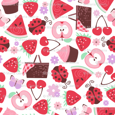 A Berry Cherry Picnic
