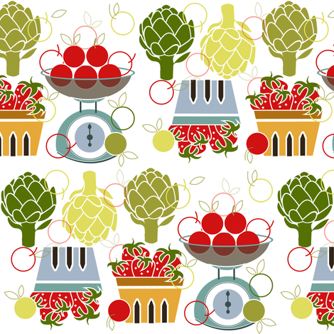 Farm Fresh fabric by theboutiquestudio on Spoonflower - custom fabric