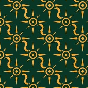 magics - green/gold