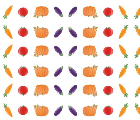 farmer's harvest fabric by iris\\\+cloud on Spoonflower - custom fabric