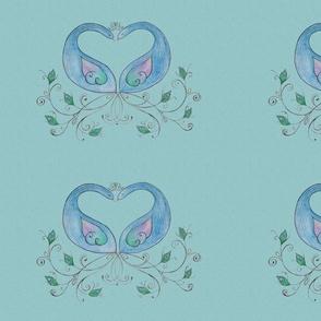green_peacocks_spoonflower