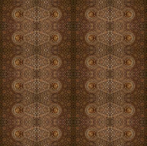 Moorish geometry fabric by greennote on Spoonflower - custom fabric