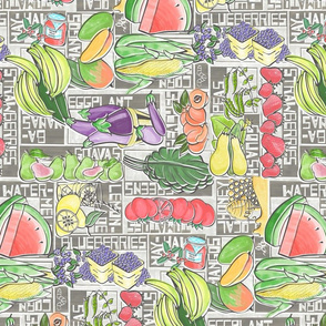 Summer Fruits and Veggies