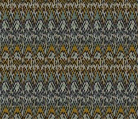 Moroccan Ikat fabric by ragan on Spoonflower - custom fabric