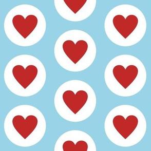 Fresh Polka Hearts