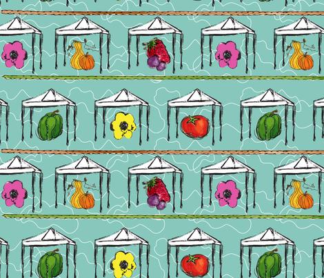 Market Fresh  fabric by moxieart on Spoonflower - custom fabric