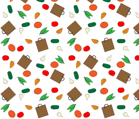 farmersmarket fabric by vena903 on Spoonflower - custom fabric