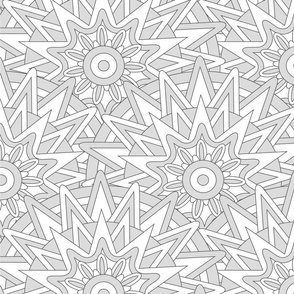 Ethnic star pattern