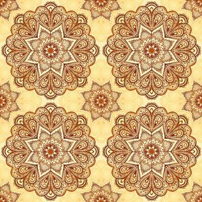 Ethnic circles pattern