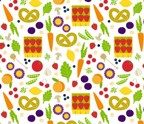Springtime Market fabric by jenimp on Spoonflower - custom fabric