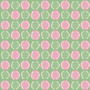 Retro Tile Green Colourway
