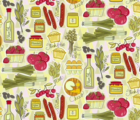 farm fresh fabric by cjldesigns on Spoonflower - custom fabric