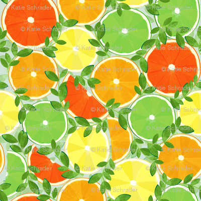 A Slice of Citrus - Large