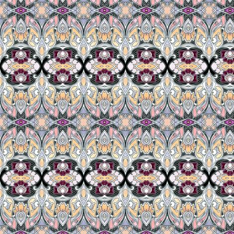Fancy Shmancy Art Nouveau Romancy fabric by edsel2084 on Spoonflower - custom fabric