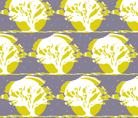 Dreaming of a Midsummer Night fabric by robin_rice on Spoonflower - custom fabric
