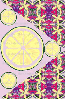 Lemons Double Tart Double Vision - lavender