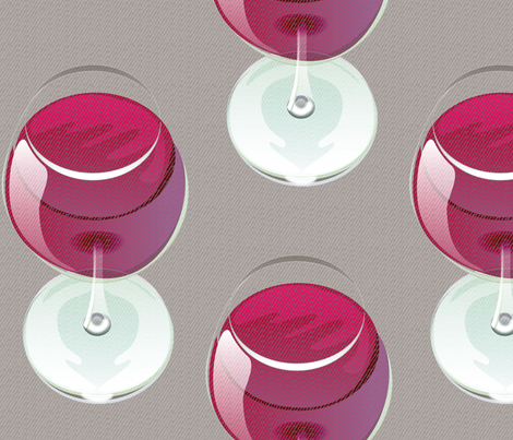 wineglass 2500 fabric by glimmericks on Spoonflower - custom fabric