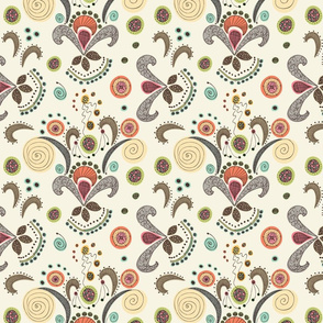 Wired Flower Pattern, Small
