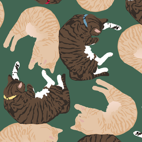 Richard and Regelwyn fabric by pond_ripple on Spoonflower - custom fabric