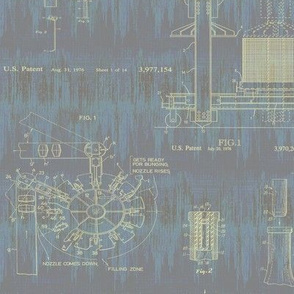 weathered patent drawings