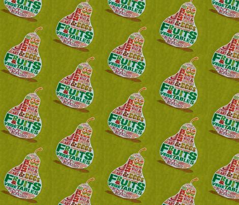 Farmers market pair fabric by mezzime on Spoonflower - custom fabric