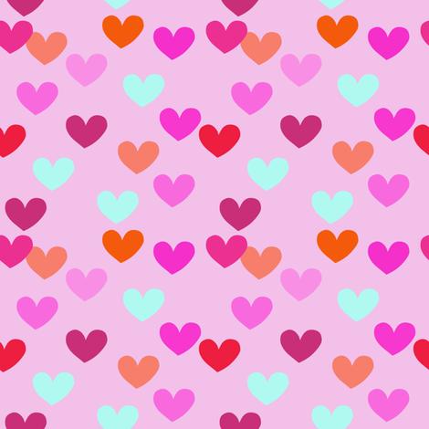 heart_light_pink fabric by lpt-workshop on Spoonflower - custom fabric