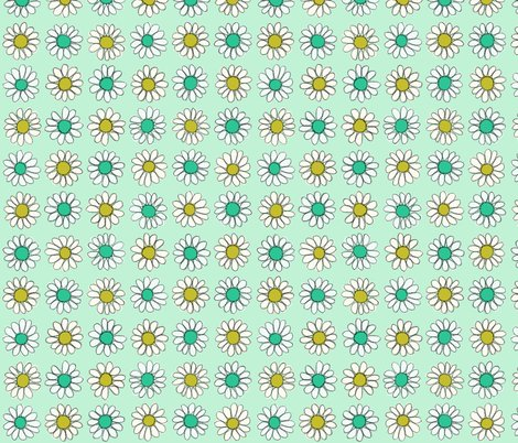 Daisy_pattern_green_gold_shop_preview
