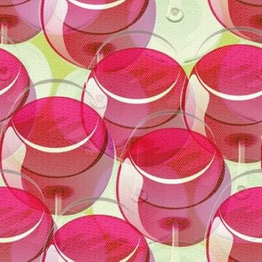 wineglasses never end ON GREEN