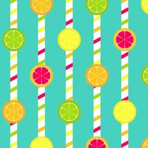 Citrus Straws
