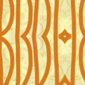 Orange Bold Bronze