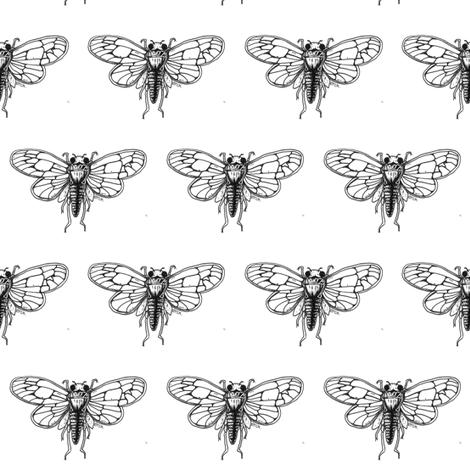 CicadaEtch-ed-ed fabric by tracysews on Spoonflower - custom fabric