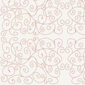 Pink Vine Swirls