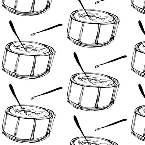 Inkblot Drum-A-Drumming