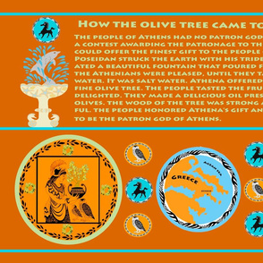 Myth of the Greek Olive Tree 2