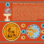Myth of the Greek Olive Tree