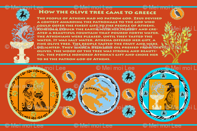 Myth of the Greek Olive Tree