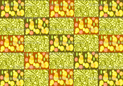 Oranges and Lemons on string