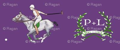 P+L Purple Polo