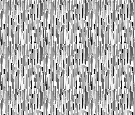 Stacked BW fabric by beththompsonart on Spoonflower - custom fabric
