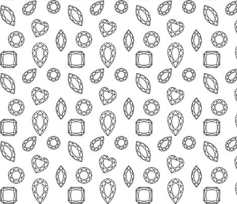 Gems! fabric by caseysharpe on Spoonflower - custom fabric