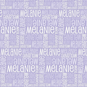 Personalised Name Fabric - Lavender