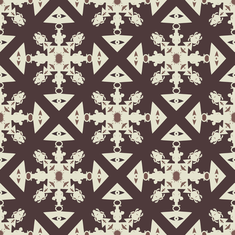 Egypt Flake fabric by kitcameo on Spoonflower - custom fabric