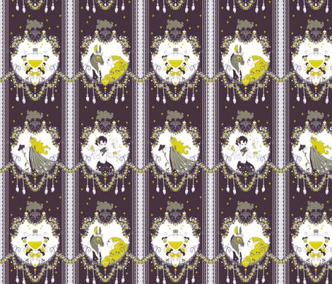 Cupid Painted Blind fabric by aimee on Spoonflower - custom fabric