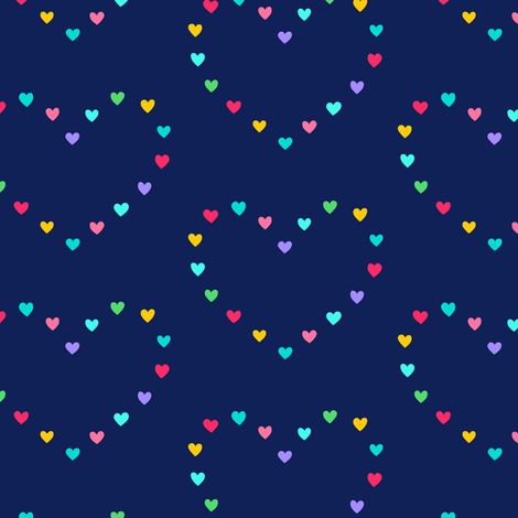 Heart of Hearts fabric by pattysloniger on Spoonflower - custom fabric