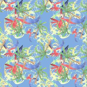 Parrots and Palms