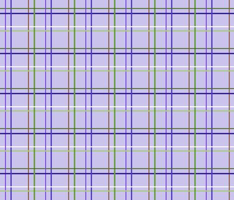 blue_flag_plaid_blue fabric by tangledvinestudio on Spoonflower - custom fabric