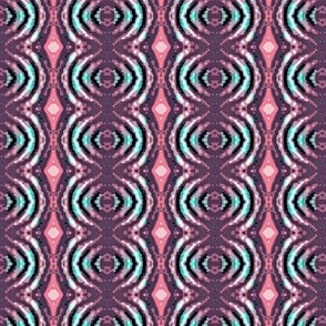 pink and purple batik circles