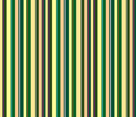 Citrus Stripes fabric by walkwithmagistudio on Spoonflower - custom fabric