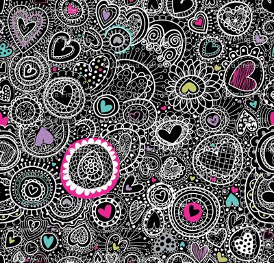Doodley Doo-Hearts-a-Plenty-at night